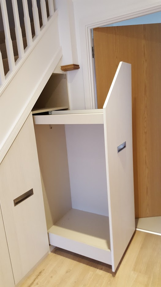 Understairs Coat And Shoe Storage