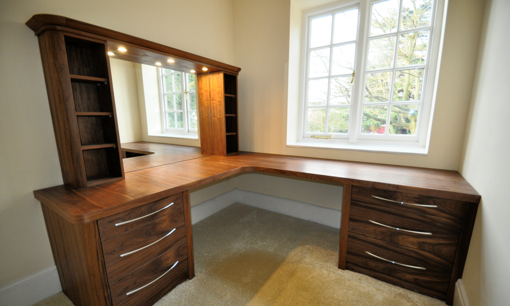 custom built dressing table