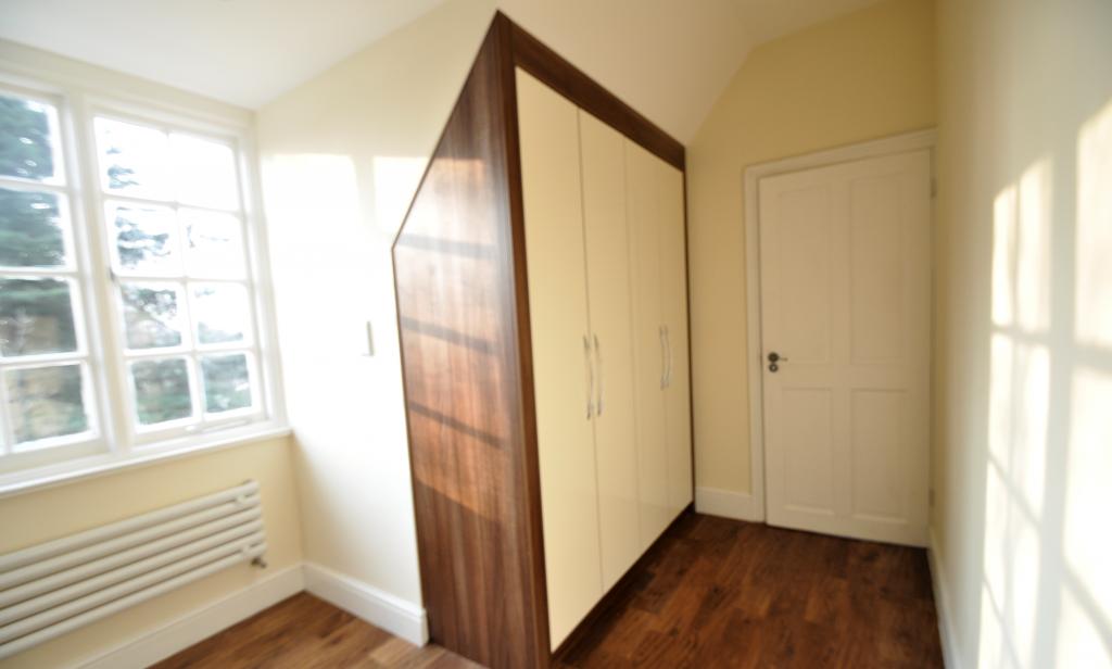 angled wardrobe