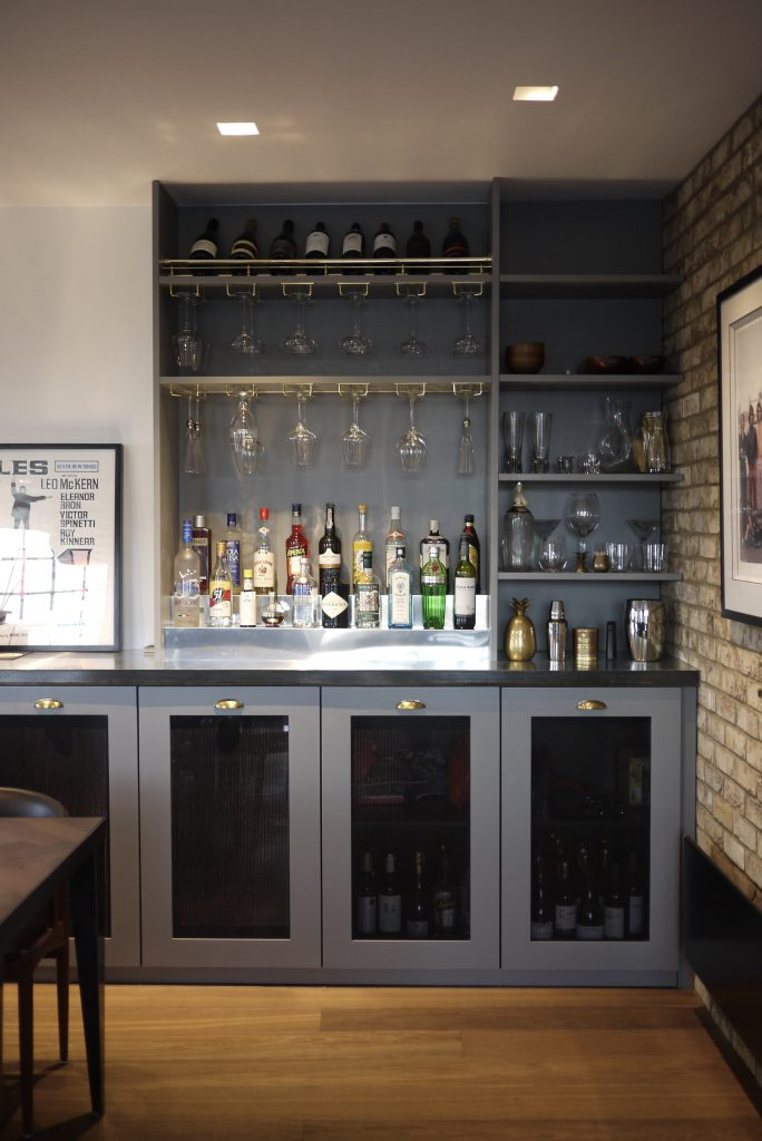 bespoke fitted bar