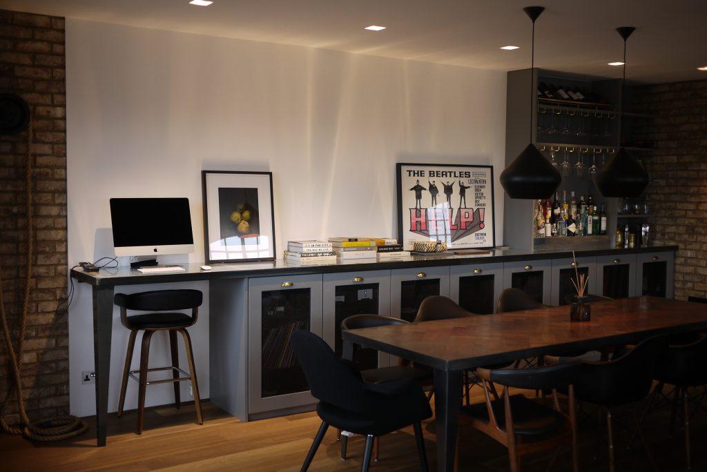 custom-made bar