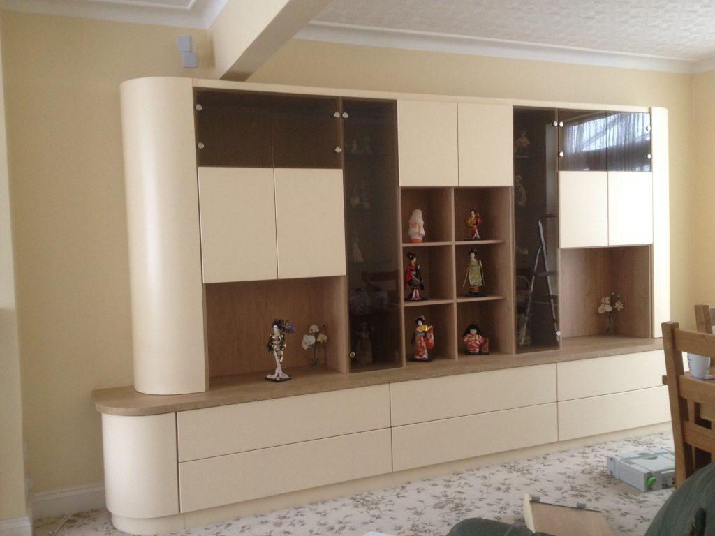 bespoke display cabinet
