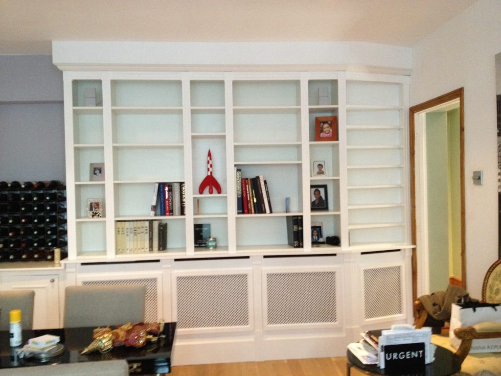 Custom-made bookcase