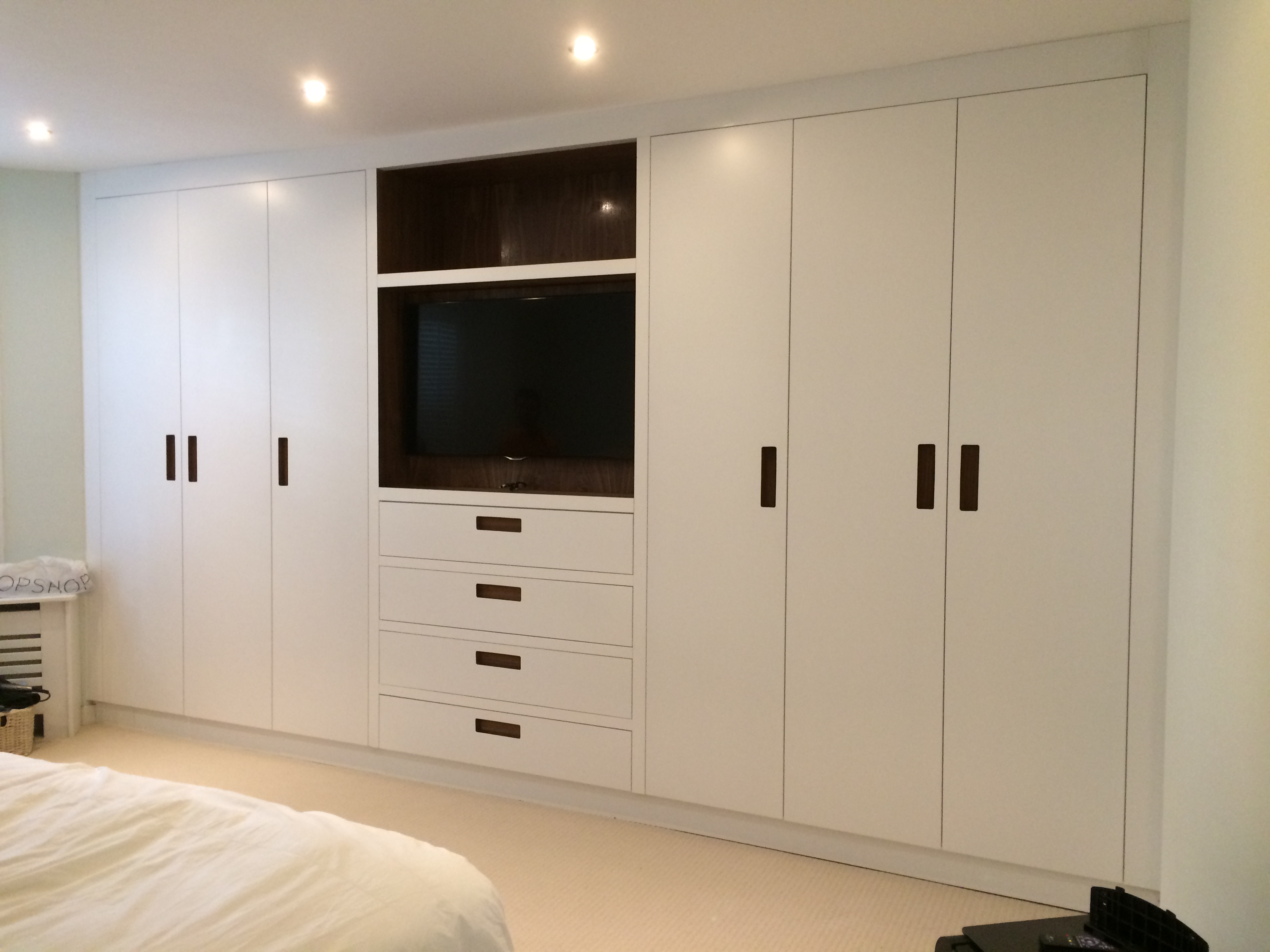 fitted bedroom cupboard