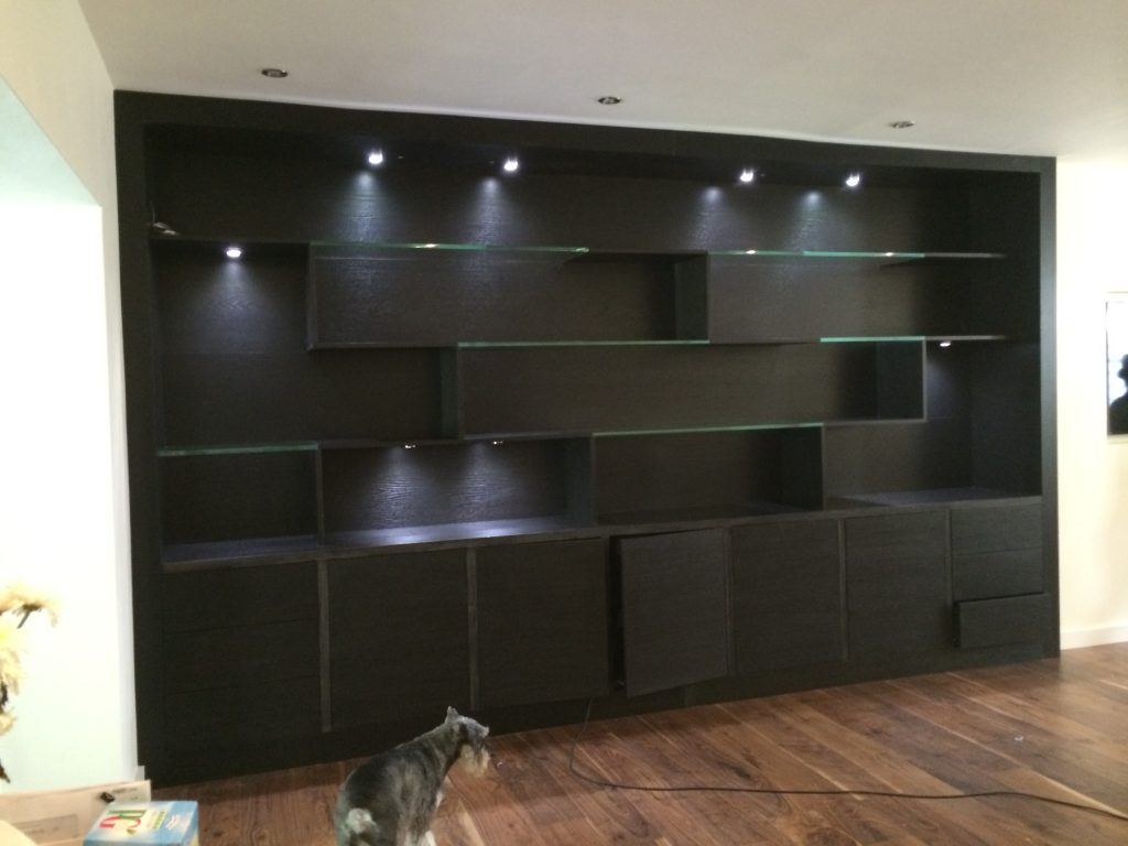 wall covering display unit
