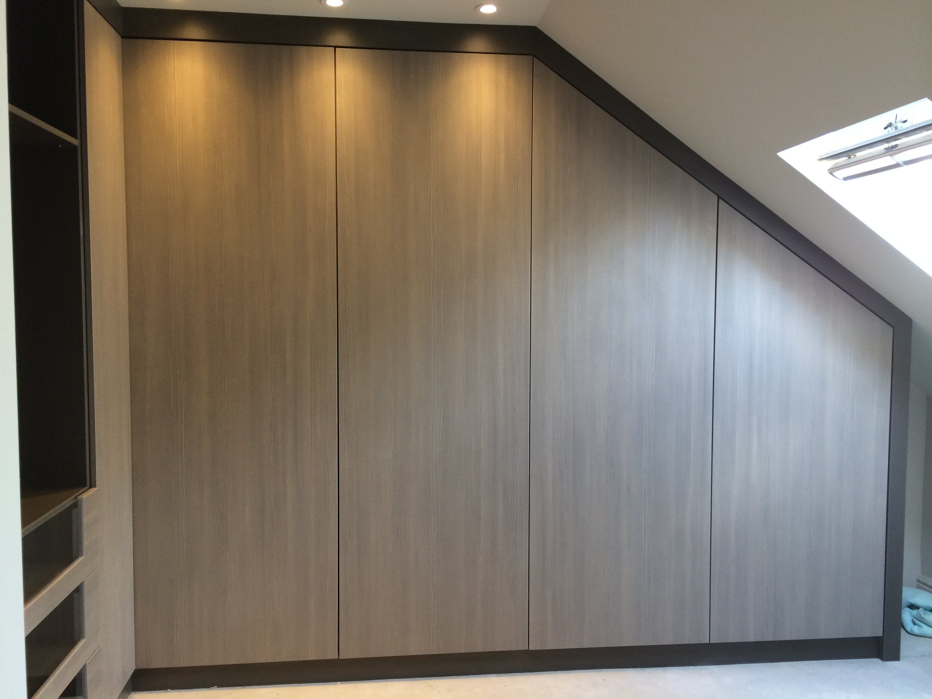 Custom-built wardrobe