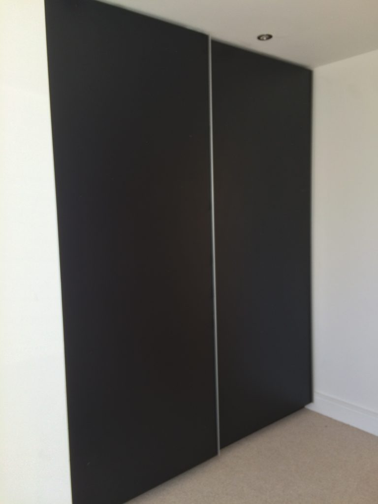 top track sliding door wardrobe