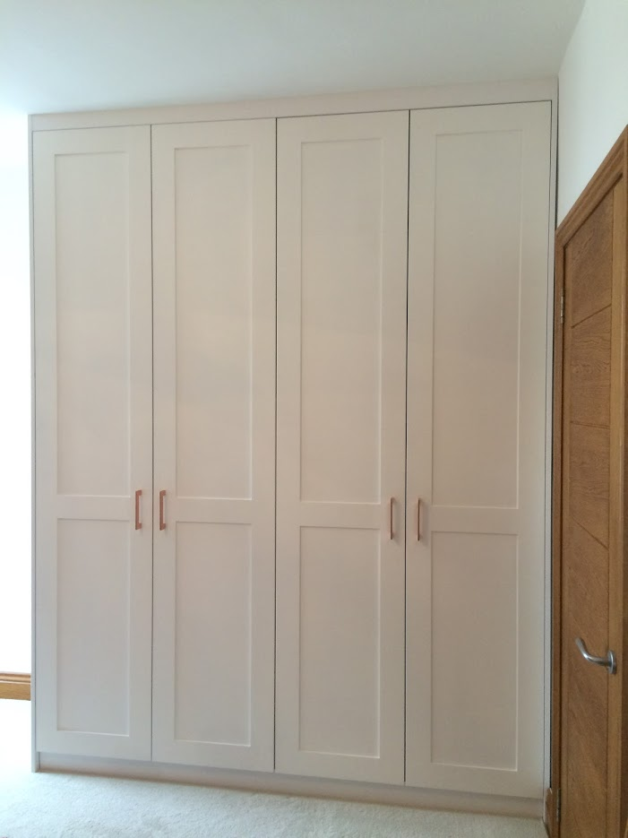 Custom-made shaker style doors