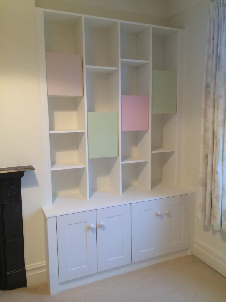 Custom Made Bookcase Bespoke Display Cabinets Clive