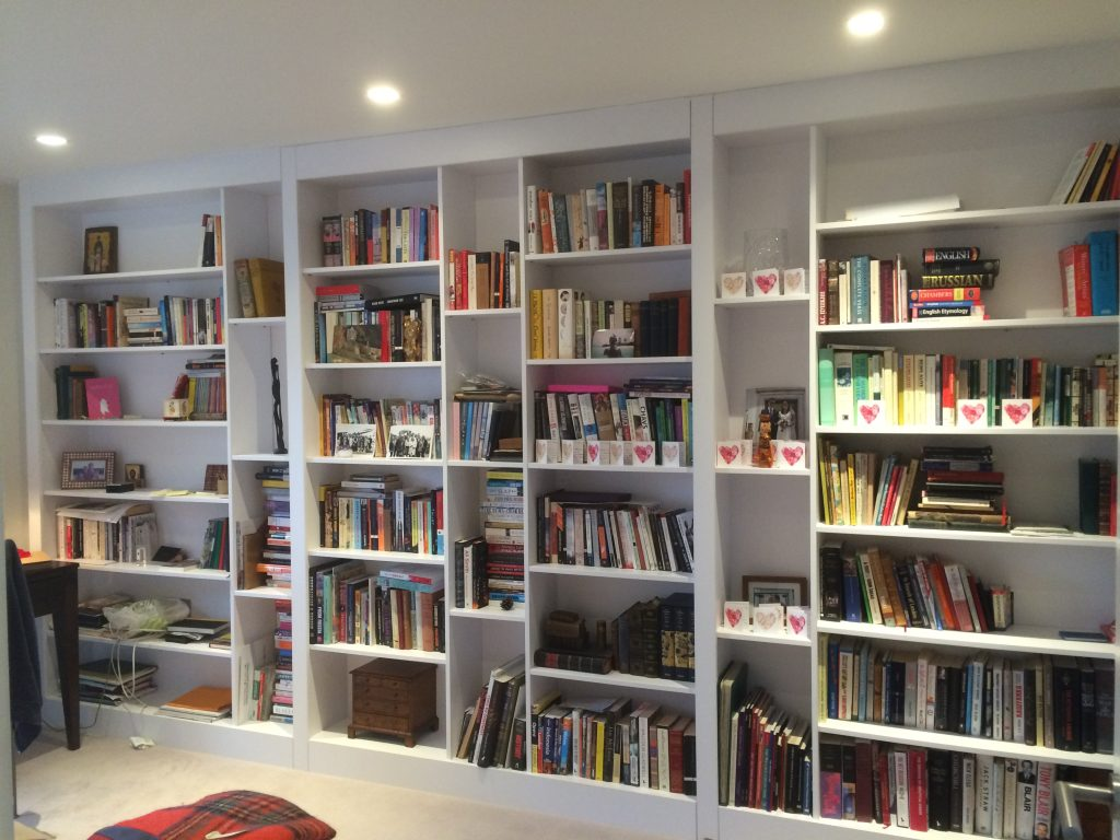 Made to measure bookcase