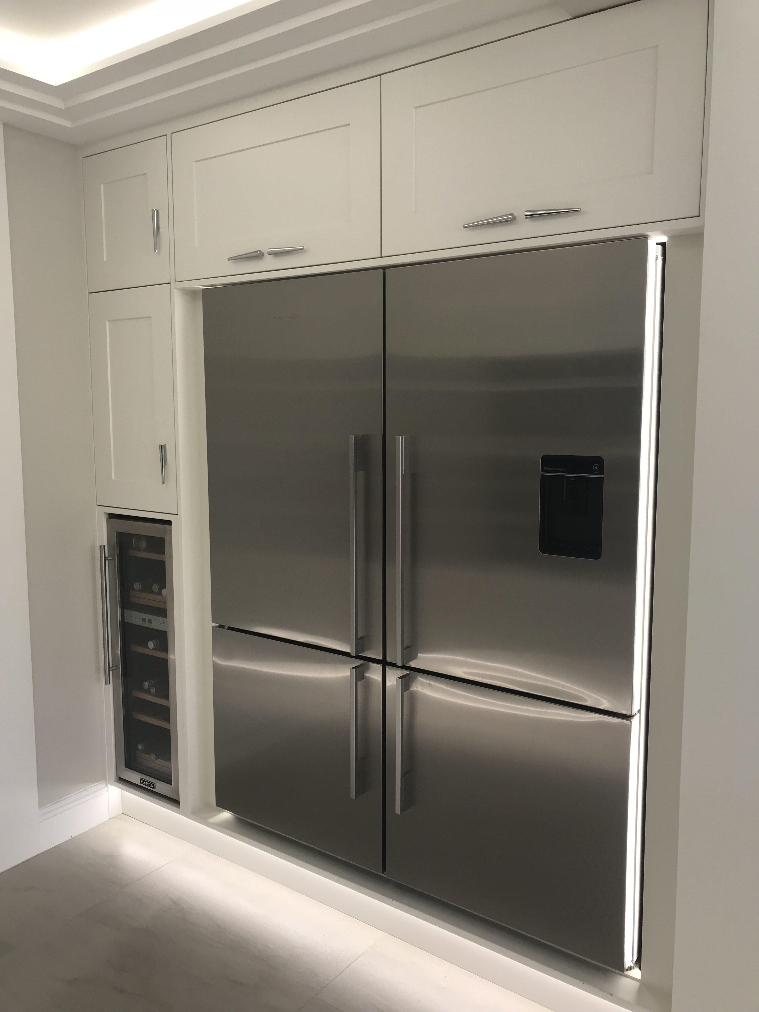 larder fridge freezer cabinet