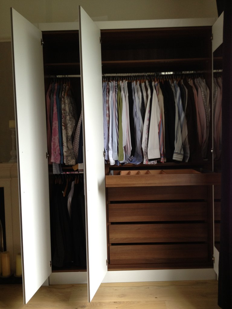 white armoire