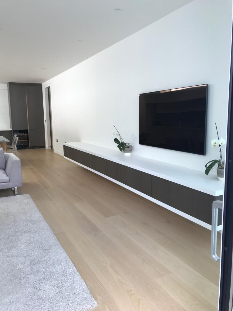 Custom-built cabinetry