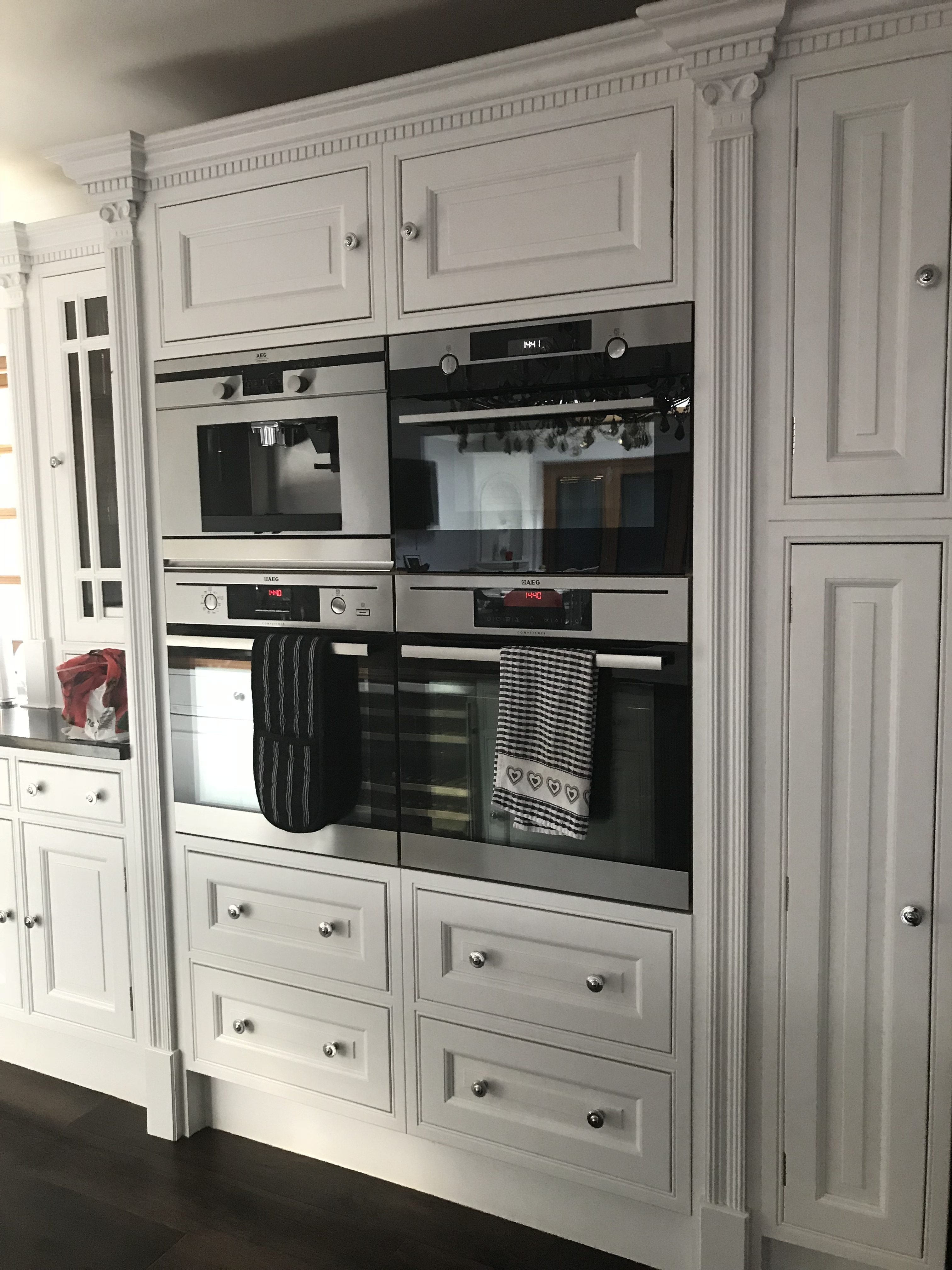 Classic English cabinetry